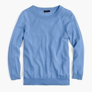 J. CREW Merino Wool Tippi Sweater Light Blue